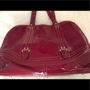 Handbags - Ruby Patent Leather Purse